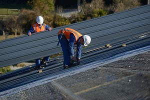 Commercial Roofing San Antonio Contractors Working